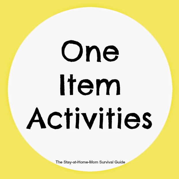kids activities with one item