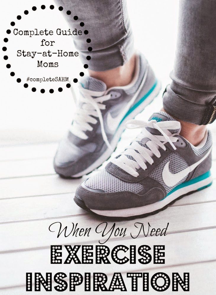 Exercise inspiration for moms and some gross motor (exercise) ideas for the kids...that can get mom moving too!