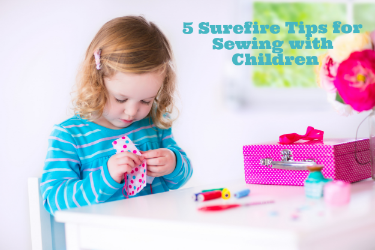 Sewing Tips for Kids and Wonderful Wednesday #125
