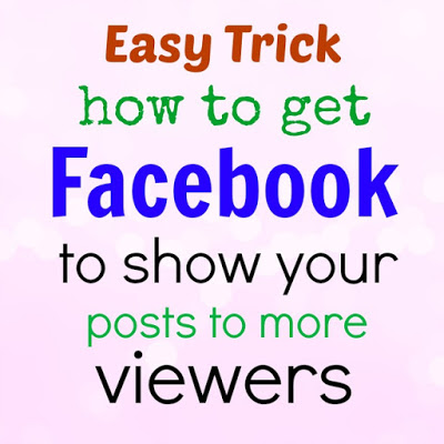 how to get facebook posts in order