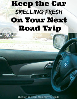 Road Trip Tip: Keep the Car Smelling Fresh