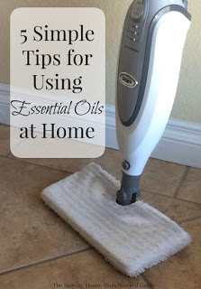 Five simple ways I use essential oils at home-from cooking to cleaning to relief of tension as a mom there are many ways to use essential oils at home.