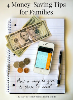 4 Money-Saving Tips for Families