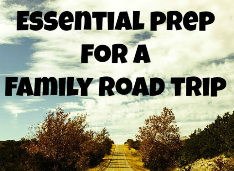 Family road trip prep essentials.
