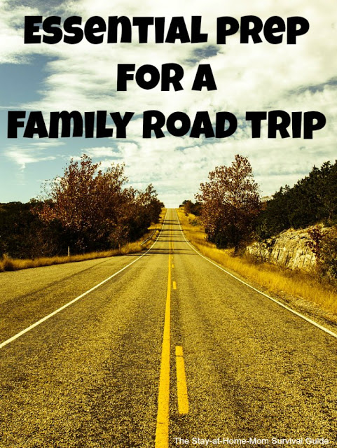 Essential Prep for a Family Road Trip-4 tips to keep the car safe and ready for lots of miles on the road this Summer.