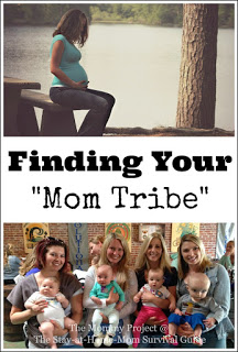 "Tips and Benefits of Finding Your  ""Mom Tribe"""