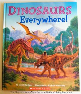 Exploring Dinosaur Footprints Activity for Kids