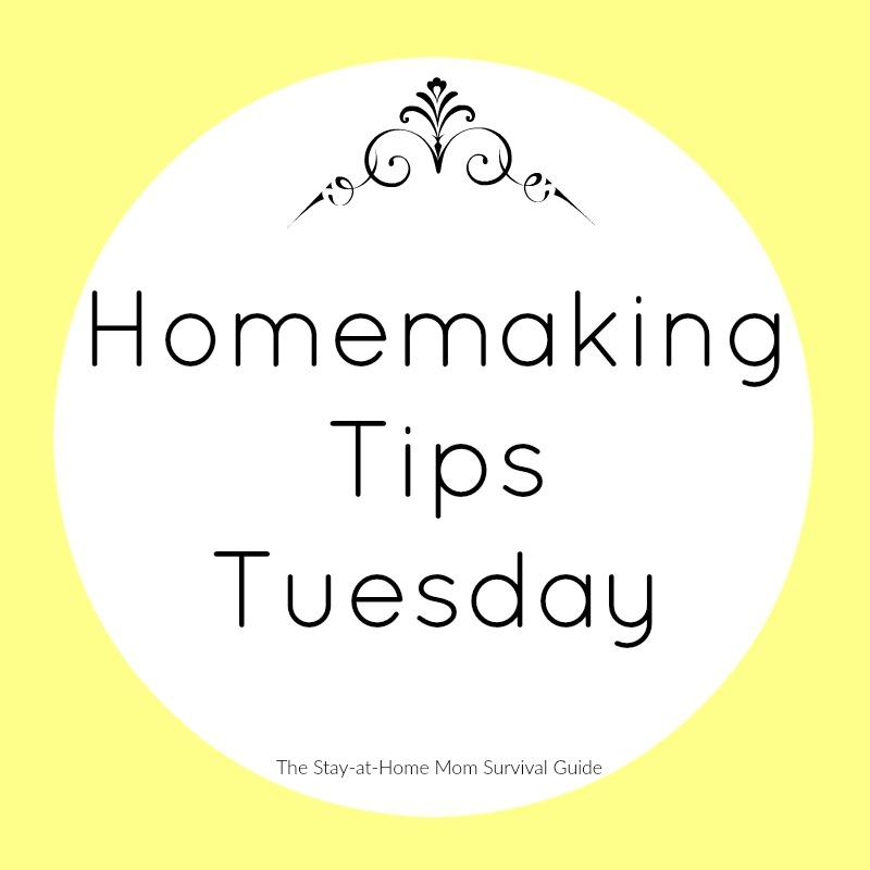 homemaking tips tuesday