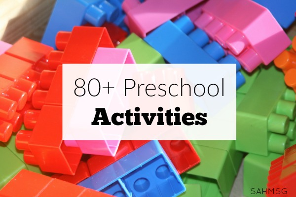 Preschool Activities The Stay At Home Mom Survival Guide
