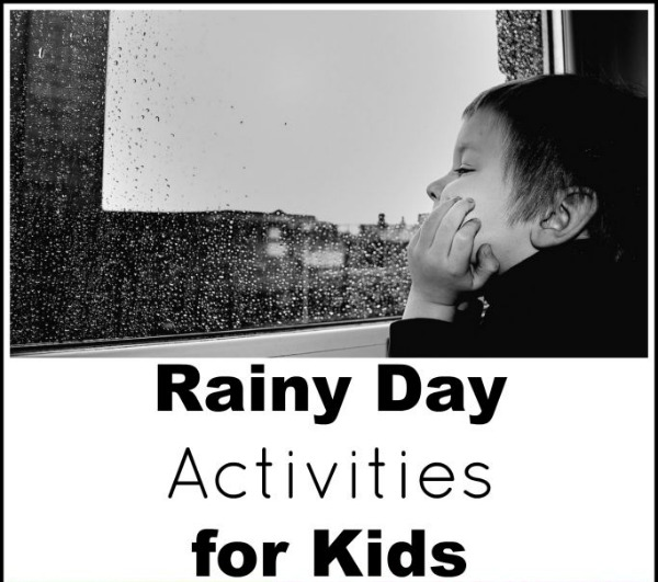 Rainy Day Activities For Kids The Stay At Home Mom Survival Guide