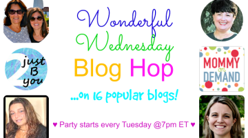Wonderful Wednesday blog hop link up
