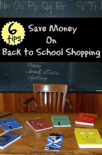 With these 6 practical tips, you can keep your budget in-line and even save money when shopping for back to school supplies and clothes for your children. Simple tips to follow from a mom of 4!