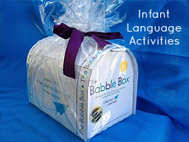 The Babble Box infant language development system.