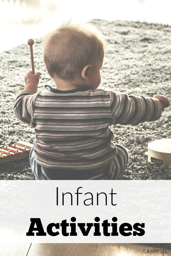 Try these for playtime with your baby! These infant activities are perfect for quick moments of interaction that are developmentally appropriate for infants.