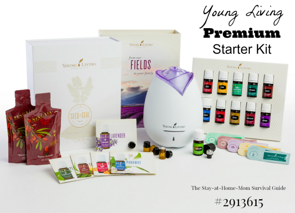 Young Living Premium Starter Kit.