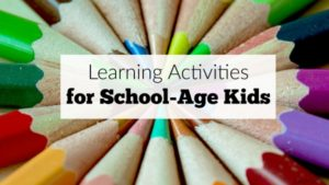 Supplemental learning activities for school-age kids. These are so easy to create for after-school or homeschool work at home for kids in elementary grades.
