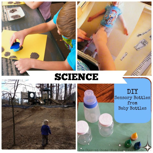 Activities for Preschool that teach science skills. These are great preschool activities for at home learning.