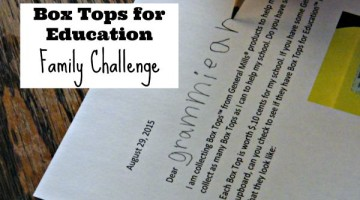 Challenge family to help collect Box Tops for your school with this free printable letter.