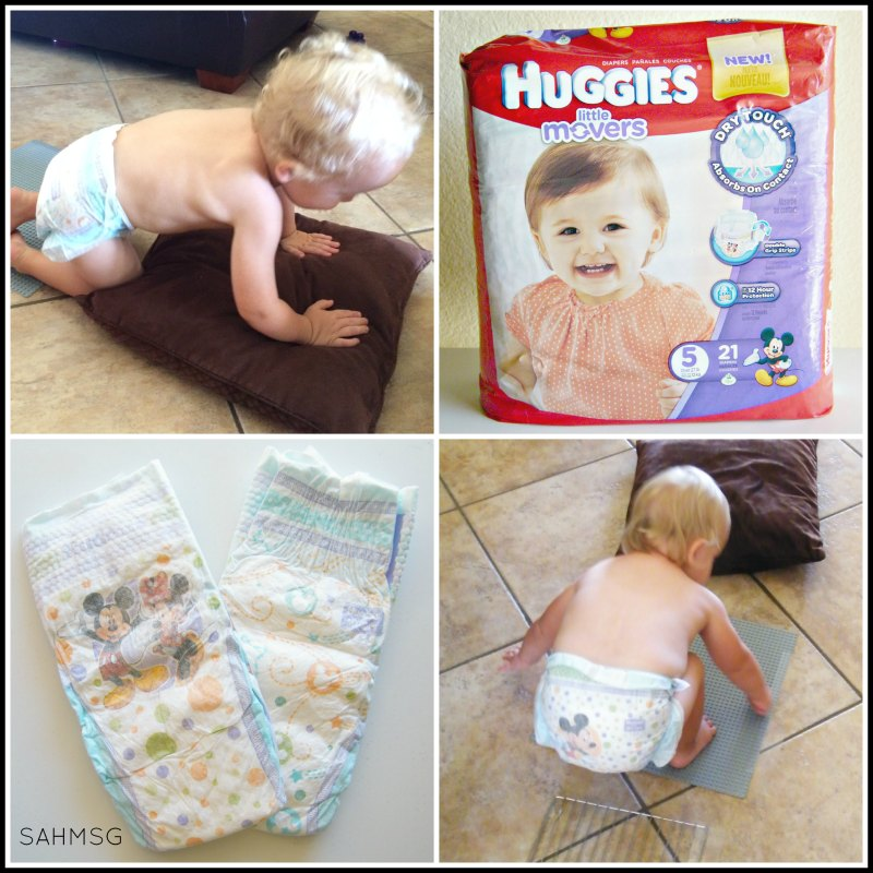 Huggies Little Movers Diapers #SetBabyFree