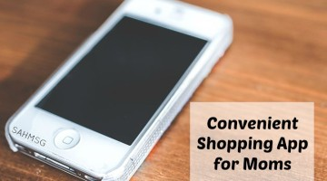 Convenient Shopping App for Moms