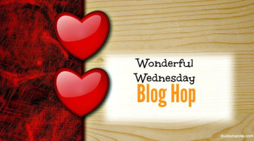 Wonderful Wednesday Blog Hop and Link up party.