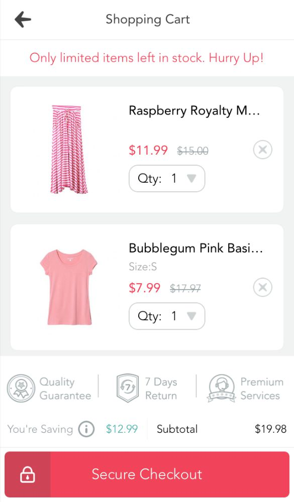 A convenient way for moms to shop for themselves without dragging the kids to the store. PatPat shopping app brings clearance prices to you.