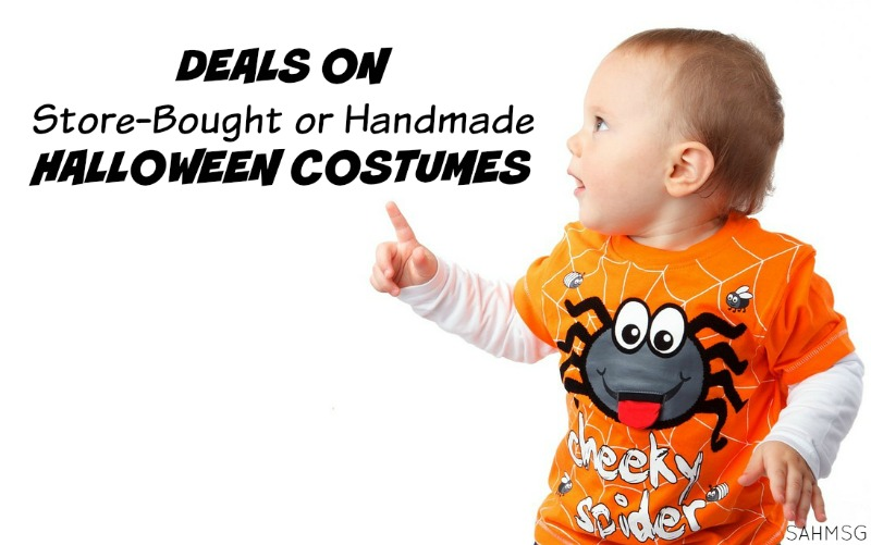 Deals that will save you money on Halloween costumes for kids-boys, girls, baby, toddler and adult too! earn cash back on your purchase as well.