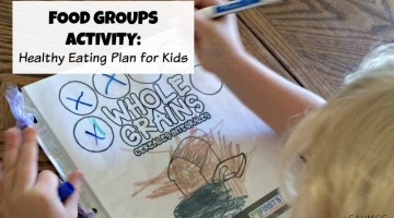 Food Groups Activity: Healthy Eating Plan {First 5 CA}