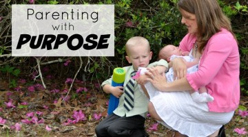 Parenting can feel complex, confusing, and challenging, and often there are simple parenting tips that can help create balance in our homes. Parenting with Purpose is a great book with parenting tips that are easy to implement and make sense.