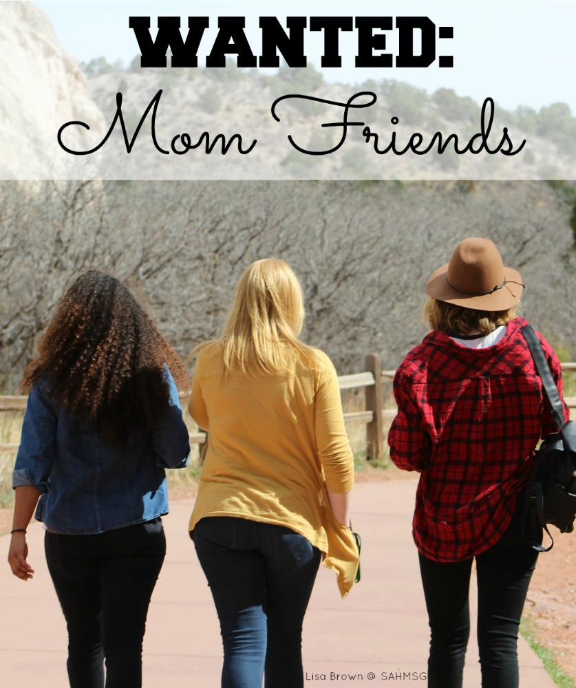 Wanted: Mom Friends! Do you find it hard to make mom friends? Making friends as a mom can be hard work, yet we often feel we need friends to help us through motherhood.