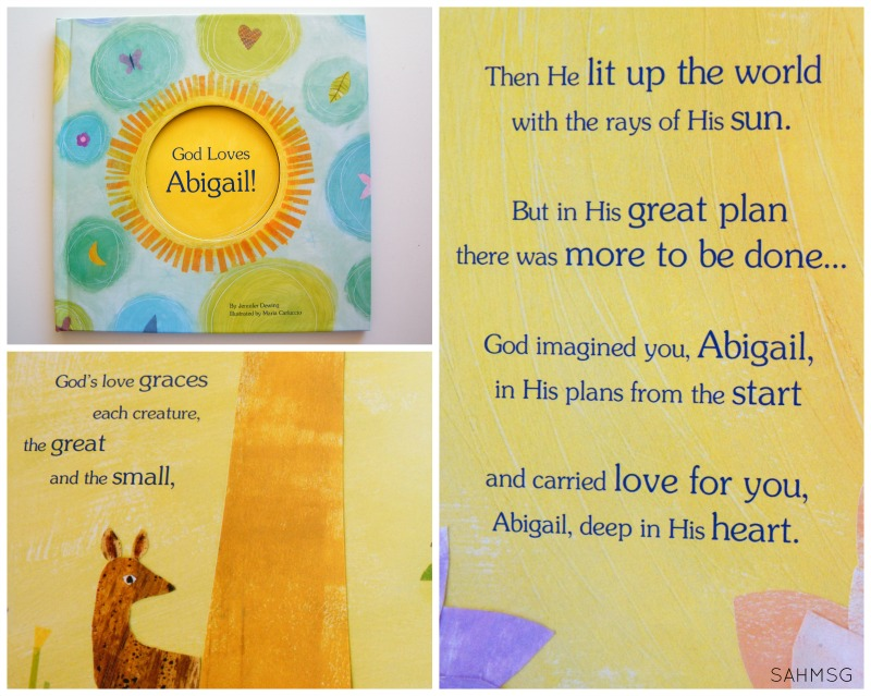 Faith-based personalized book for kids from I See Me. I was thrilled with the quality of these personalized books for kids. They are a great Christmas gift idea.