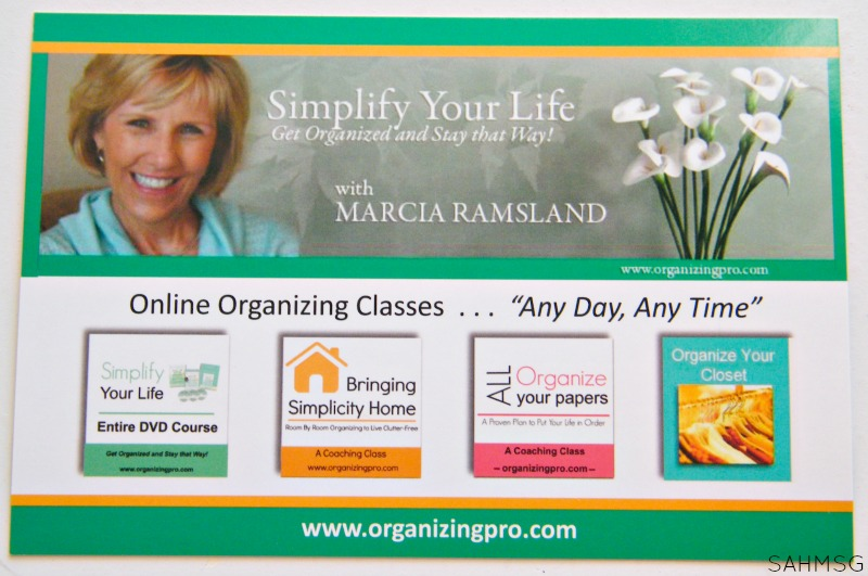 Marcia Ramsland-organizing expert with tips for creating a holiday planning binder. So helpful.