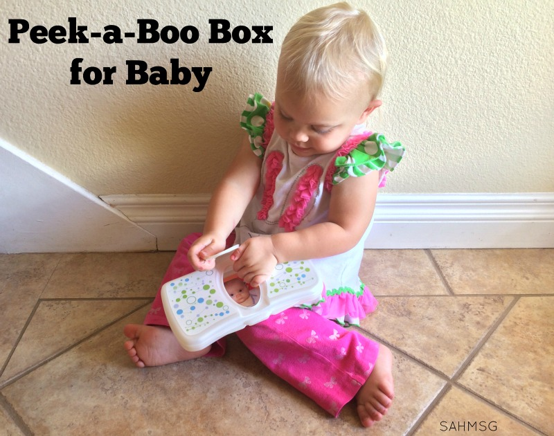 Peek A Boo Boxes Diy Personalized Toy For Babies The Stay At Home
