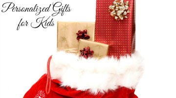 Save money on personalized gifts for kids! No need to spend a ton of money to make the kids feel special this Christmas. Gift ideas and code to save included.