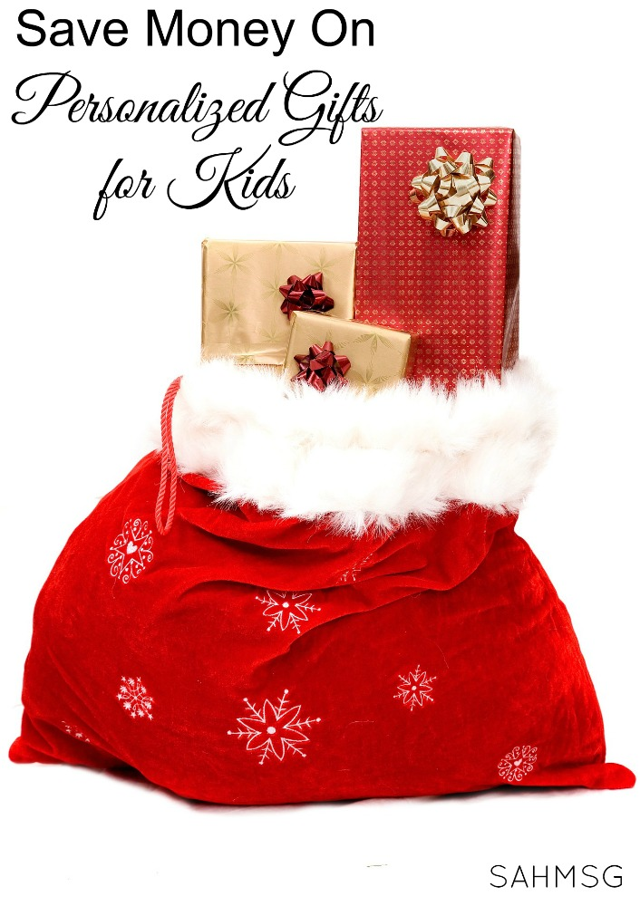Gift ideas for kids that allow you to save money on personalized gifts for kids this Christmas.