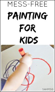The mess-free painting activity for kids. A great unique gift idea and really affordable.