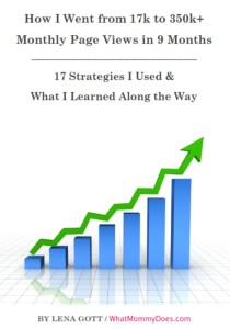 Strategies for building blog traffic, work at home blogging resources for moms.