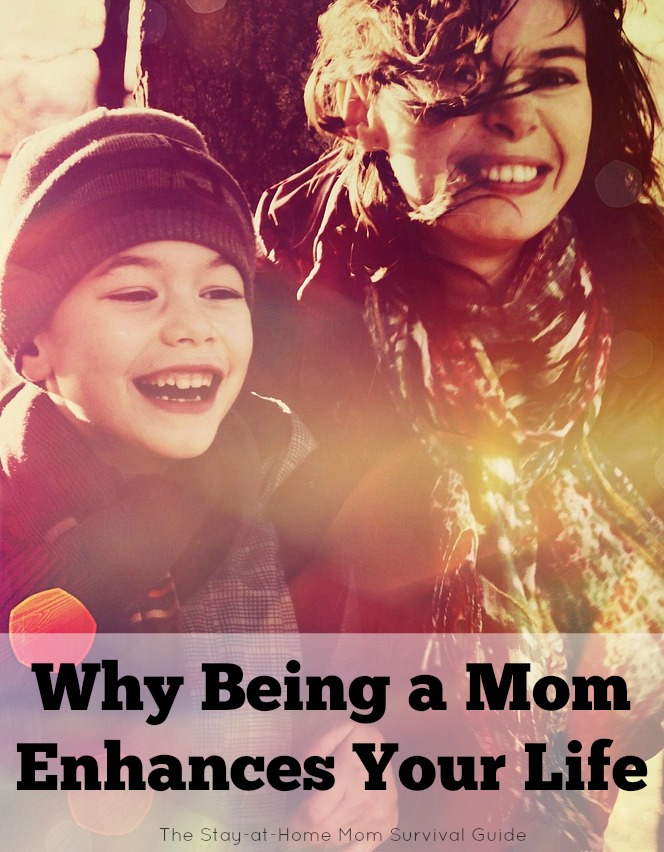 Why being a mom enhances and does not take away from your life. Supporting family is an important-and maybe the most important-goal.