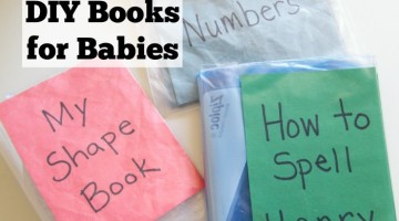 DIY Books for Babies and Toddlers