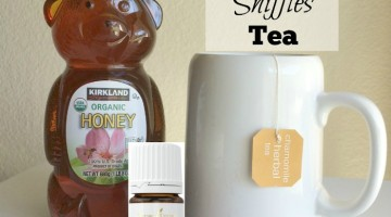 End the sniffles and support your immune system with this simple tea recipe. (Kid version included too!)