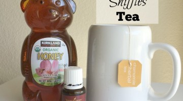 End the Sniffles Tea (or Juice)