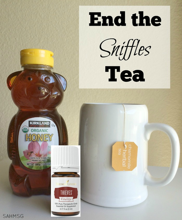 Simple recipe to end the sniffles and support your immune system naturally. (Great kid version included too.)