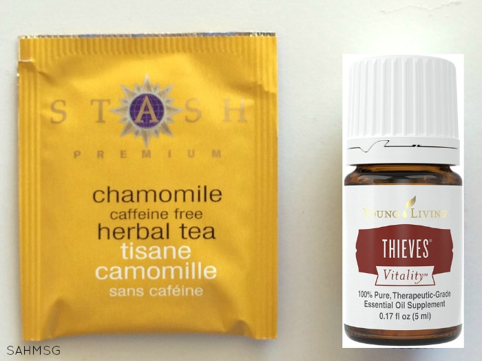 End the sniffles tea recipe.