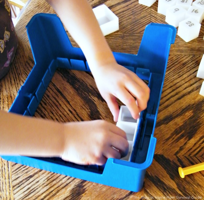 Turn your Don't Break the Ice game into a preschool activity for learning numbers. Included are ideas for toddlers to play too!