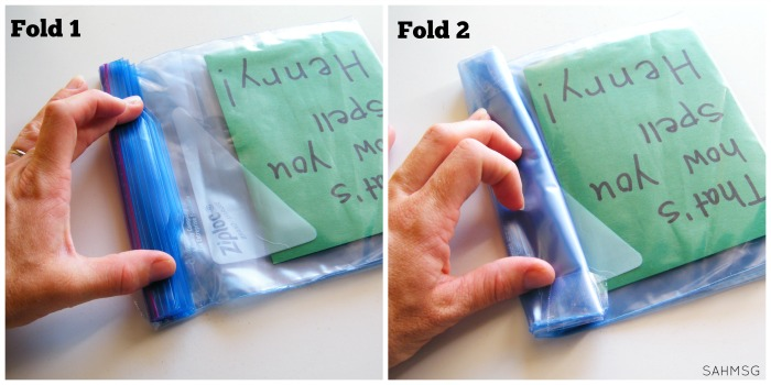 DIY books for babies and toddlers using ziploc bags-so easy to personalize with shapes, numbers or letters of the child's name. What a great idea for infants and toddlers.