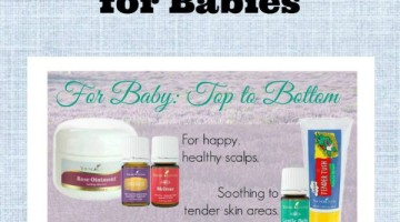 Young Living essential oils for babies-homemade baby massage oil recipe too.