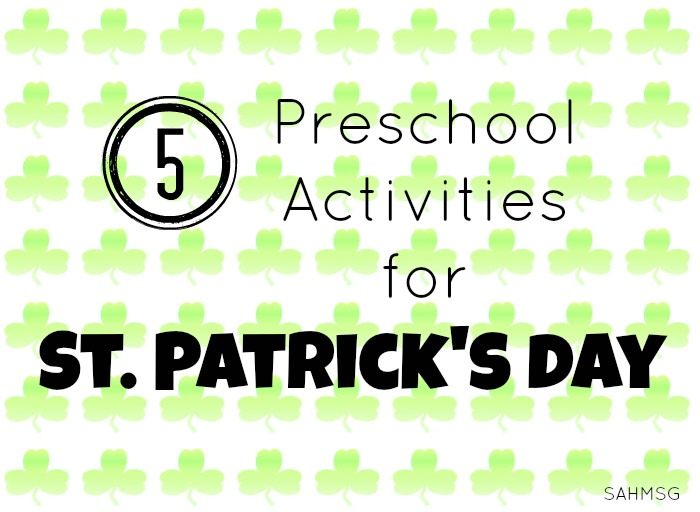 Preschool activities for St Patriclk's Day to introduce the history and fun of the holiday with preschool children. Printables, crafts, books and fun ideas for kids!