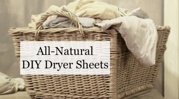 All-Natural DIY Dryer Sheets