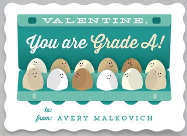 Time-Saving Valentine's Cards for Kids that cost less than $1 per card. @minted