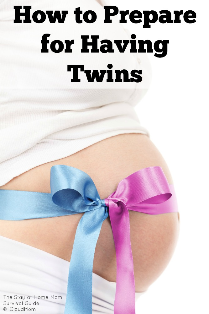 How to prepare for having twins. 8 tips from a mom of twins (plus 2) that helped her prepare ( as much as possible) for having twins.
